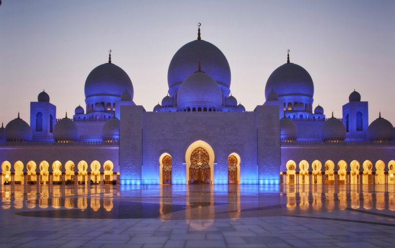 taraweeh prayers in sheikh zayed mosque