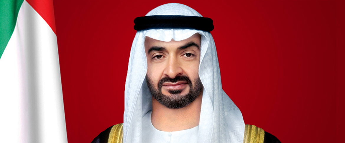 His Highness Sheikh Mohamed bin Zayed Al Nahyan, Crown Prince of Abu Dhabi and Deputy Supreme Commander of the UAE Armed Forces.